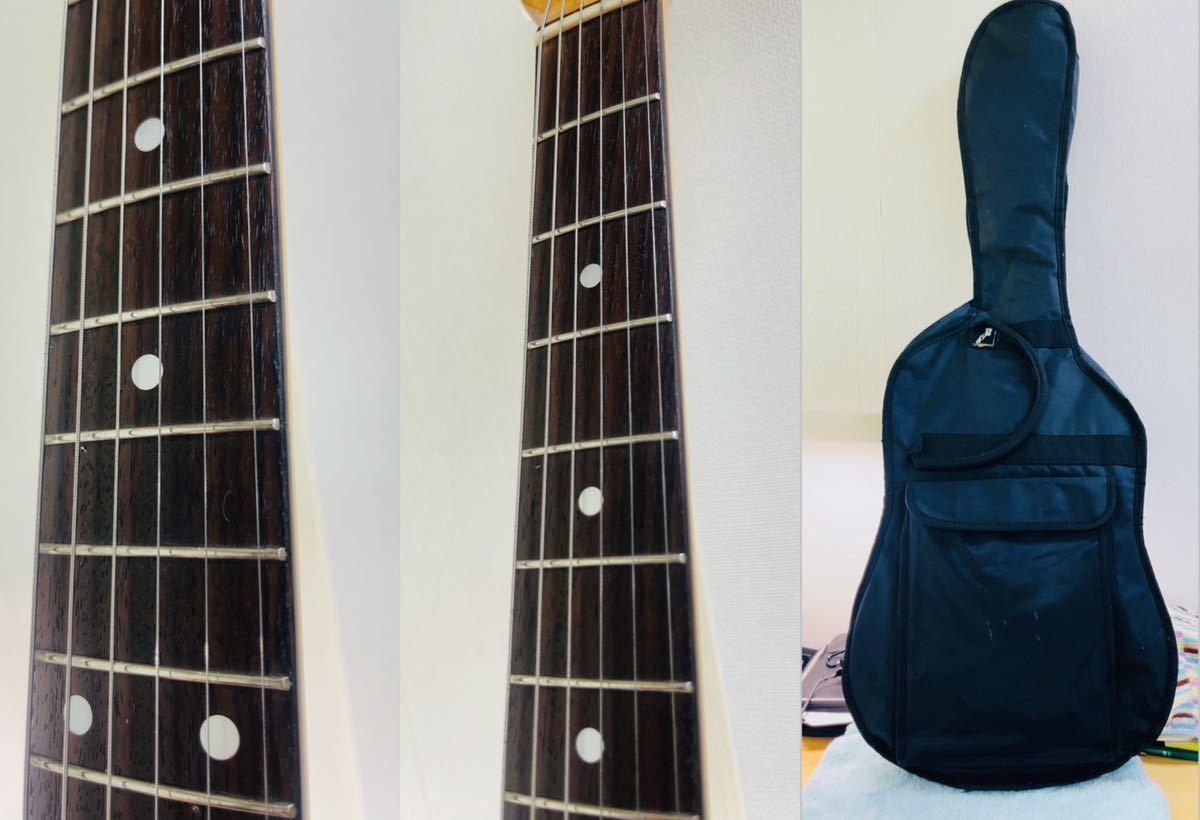 美品 Fender フェンダー MUSTANG エレキギター ムスタング U002928 肩掛けベルト ソフトケース付き_画像8