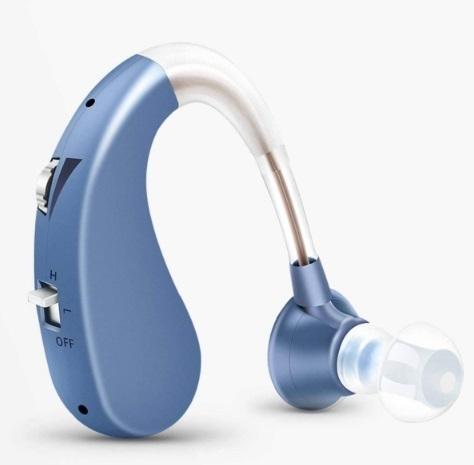 【送料無料】 集音器 補聴器 充電式 軽量 左右両用タイプ 高齢者中度難聴者用 耳掛け式 高性能 xq1516_画像1