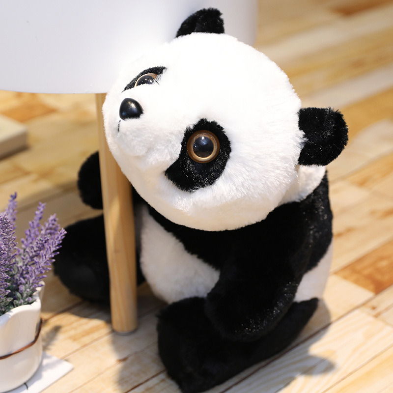 かわいい パンダ panda おもちゃ ぬいぐるみ 動物 ふわふわ 子ども 男の子 女の子 プレゼント 誕生日 ギフト サイズ 40cm xq0763_画像1