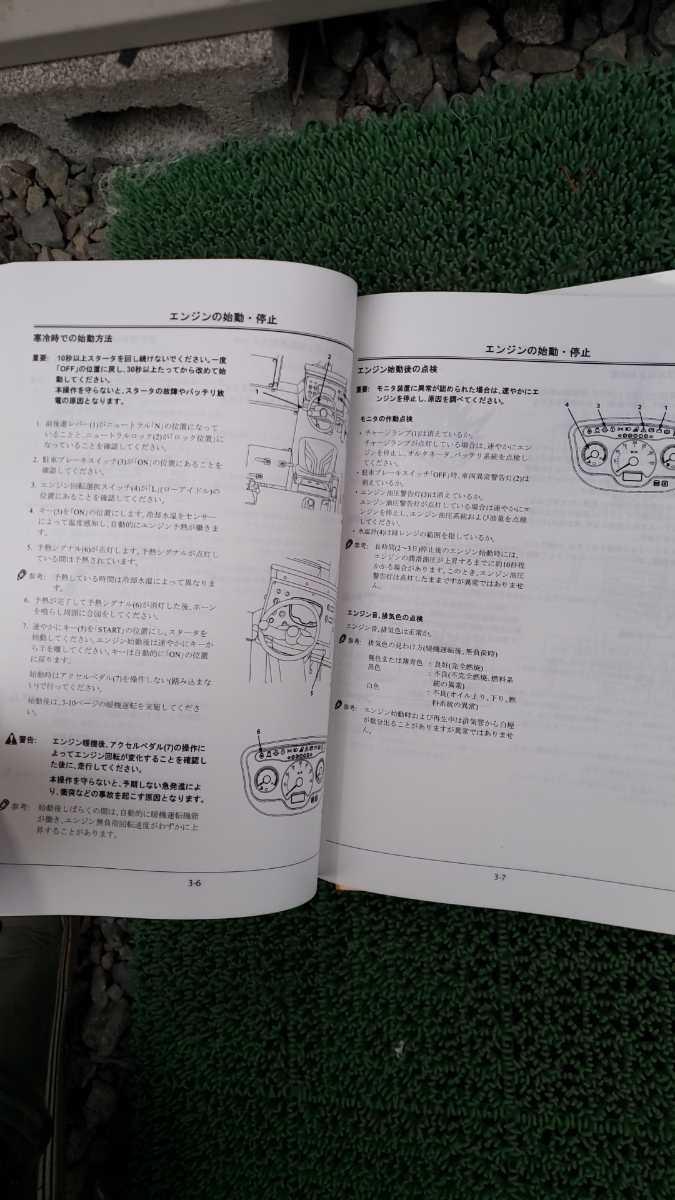 日立 タイヤローラー ZC220P-6 取説、 整備マニュアル  _画像2