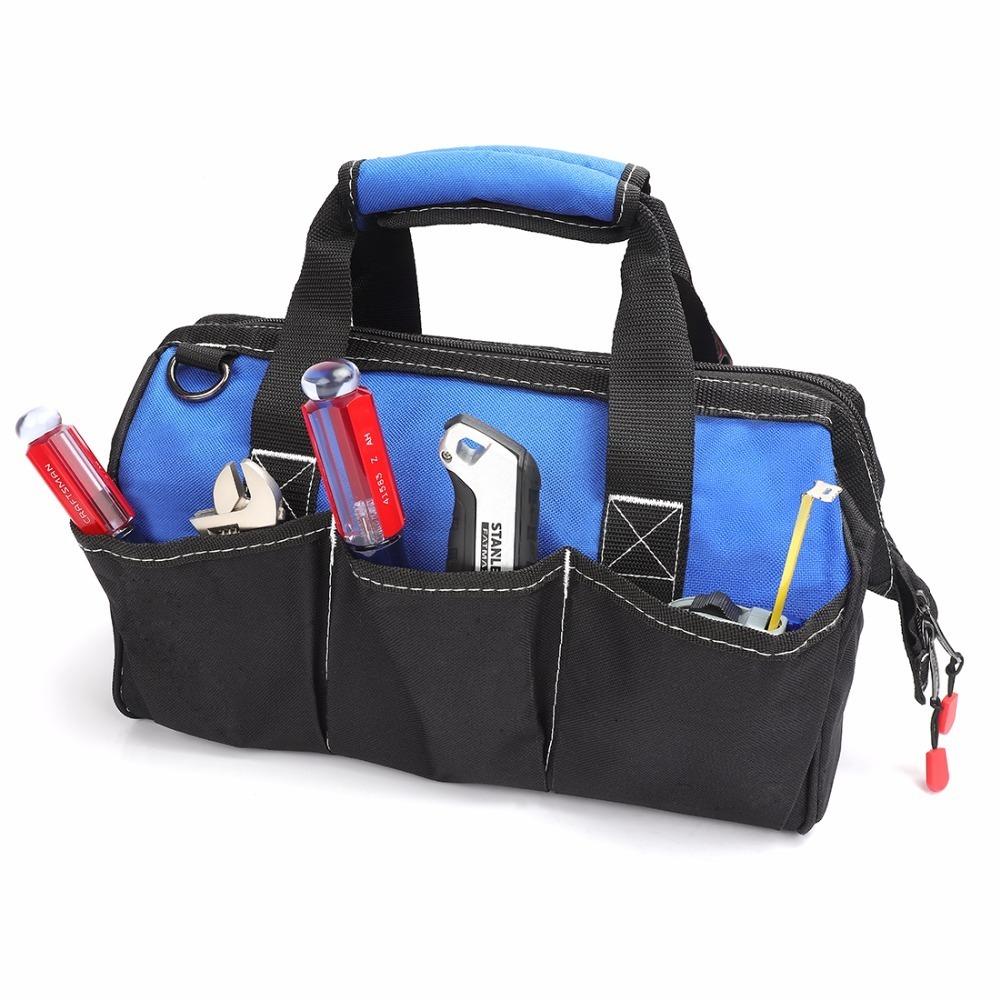 ◆最安にします◆大容量 ツールバッグ 工具 収納 バッグ ショルダー ハンドバッグ 防水 大容量 ハンドバッグ 14インチ おしゃれ AT11031_画像2
