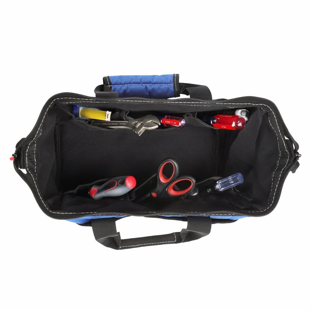 ◆最安にします◆大容量 ツールバッグ 工具 収納 バッグ ショルダー ハンドバッグ 防水 大容量 ハンドバッグ 14インチ おしゃれ AT11031_画像5
