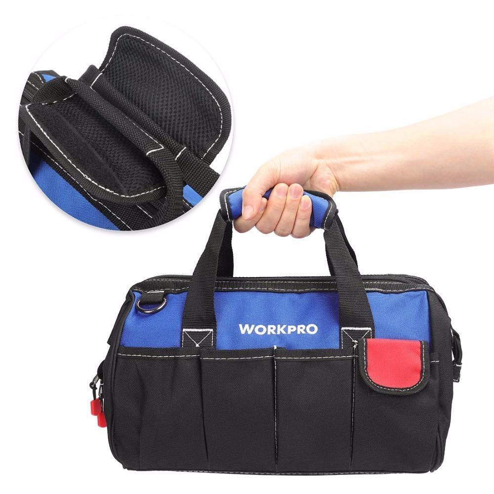 ◆最安にします◆大容量 ツールバッグ 工具 収納 バッグ ショルダー ハンドバッグ 防水 大容量 ハンドバッグ 14インチ おしゃれ AT11031_画像4