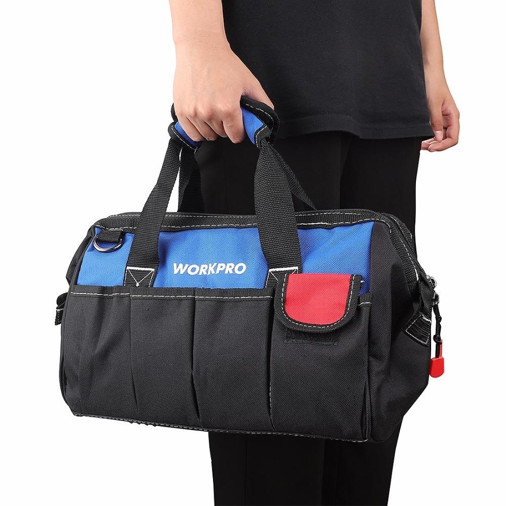 ◆最安にします◆大容量 ツールバッグ 工具 収納 バッグ ショルダー ハンドバッグ 防水 大容量 ハンドバッグ 14インチ おしゃれ AT11031_画像6