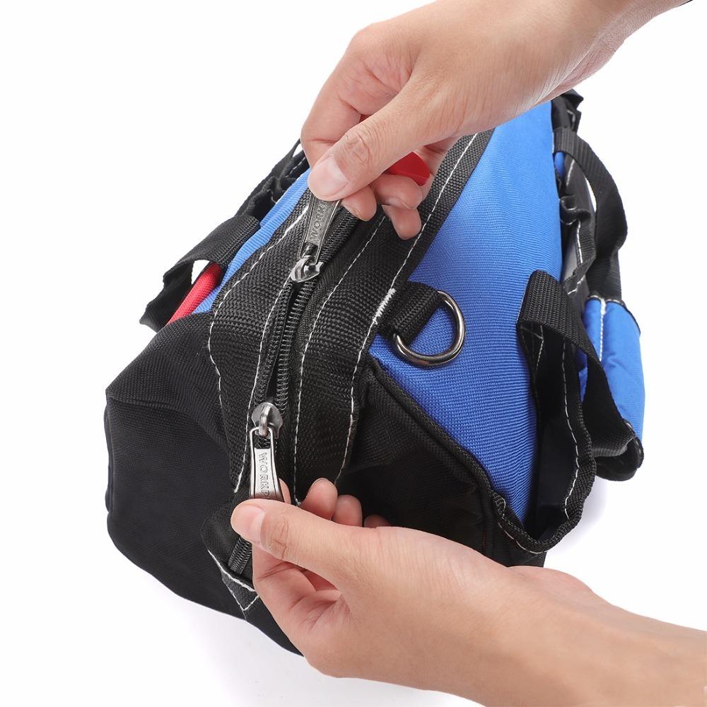 ◆最安にします◆大容量 ツールバッグ 工具 収納 バッグ ショルダー ハンドバッグ 防水 大容量 ハンドバッグ 14インチ おしゃれ AT11031_画像3