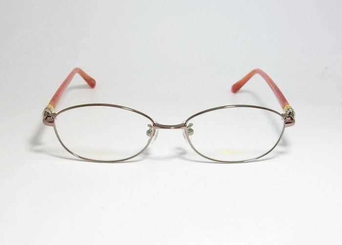 Chopard ショパール ■訳あり■ レディース 女性 婦人 眼鏡 メガネ フレーム VCHC47J-08E2 サイズ52 度付可 ピンクゴールド MADE IN JAPAN_画像2