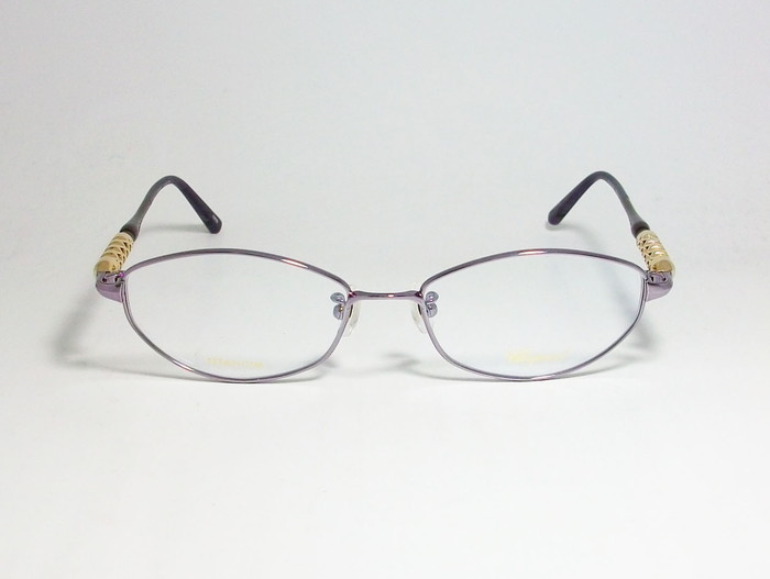 Chopard ショパール ■訳あり■ レディース 女性 婦人 眼鏡 メガネ フレーム VCHB86J-0R95 サイズ52 度付可 パープル MADE IN JAPAN 日本製_画像2