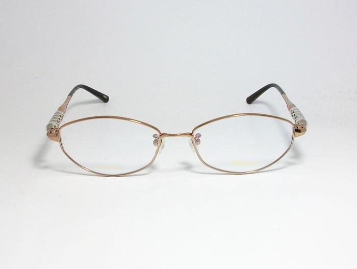 Chopard ショパール ■訳あり■ レディース 女性 婦人 眼鏡 メガネ フレーム VCHB86J-0300 サイズ52 度付可 ライトブラウン MADE IN JAPAN_画像2