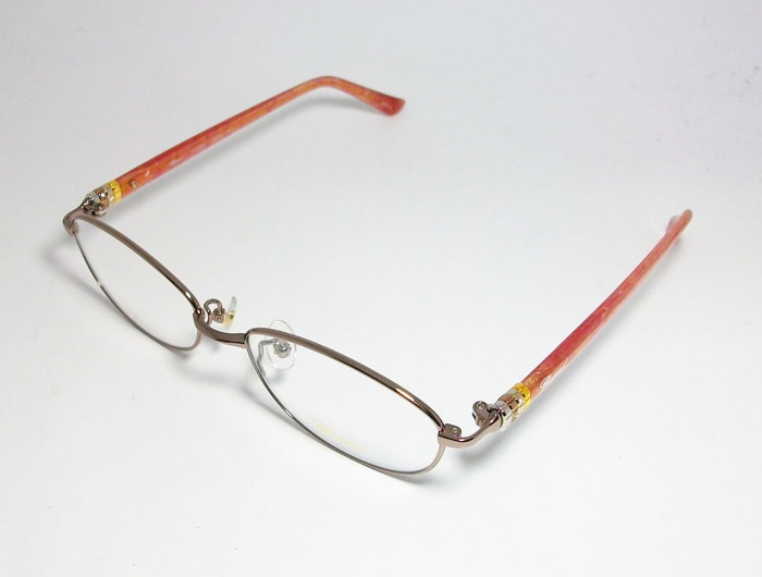 Chopard ショパール ■訳あり■ レディース 女性 婦人 眼鏡 メガネ フレーム VCHC47J-08E2 サイズ52 度付可 ピンクゴールド MADE IN JAPAN_画像3