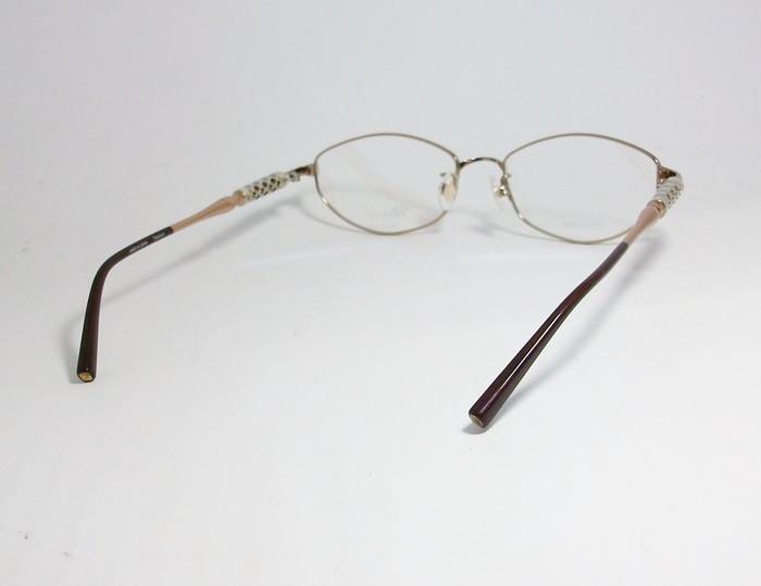Chopard ショパール ■訳あり■ レディース 女性 婦人 眼鏡 メガネ フレーム VCHB86J-0300 サイズ52 度付可 ライトブラウン MADE IN JAPAN_画像4