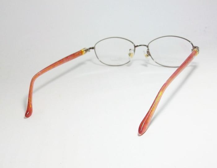 Chopard ショパール ■訳あり■ レディース 女性 婦人 眼鏡 メガネ フレーム VCHC47J-08E2 サイズ52 度付可 ピンクゴールド MADE IN JAPAN_画像4
