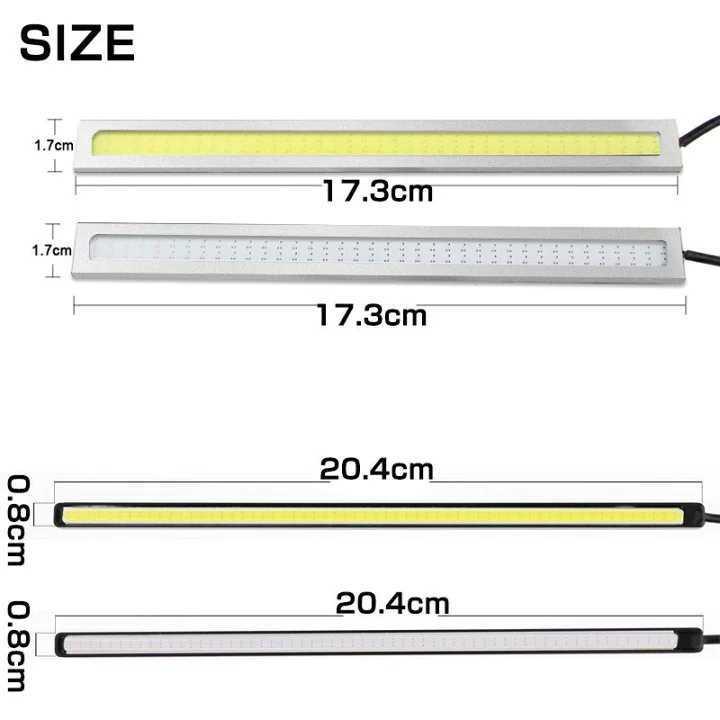 光輝度発光 COB LED ライト ナンバー灯 ディライト ホワイト_画像3