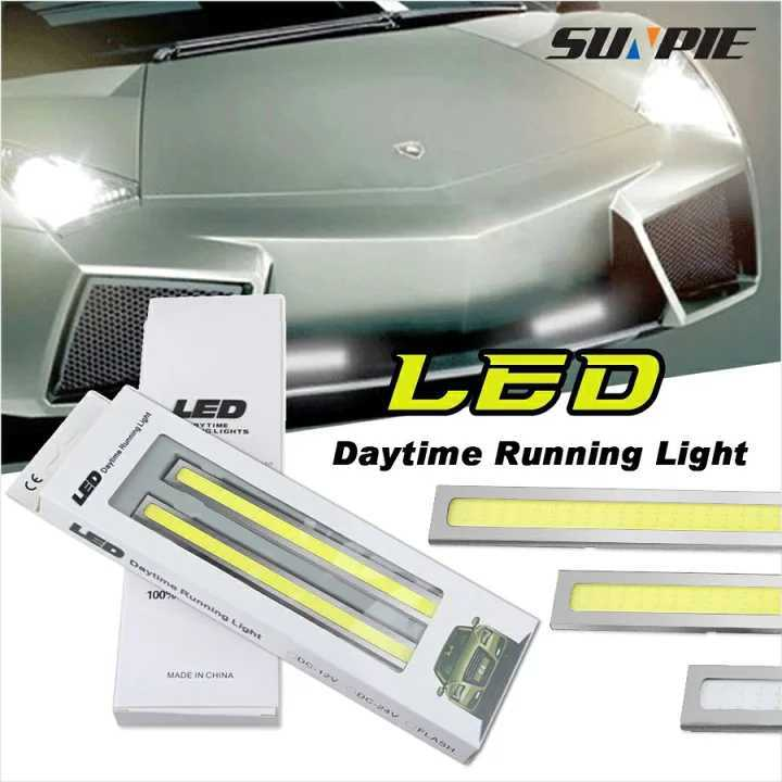 光輝度発光 COB LED ライト ナンバー灯 ディライト ホワイト_画像1
