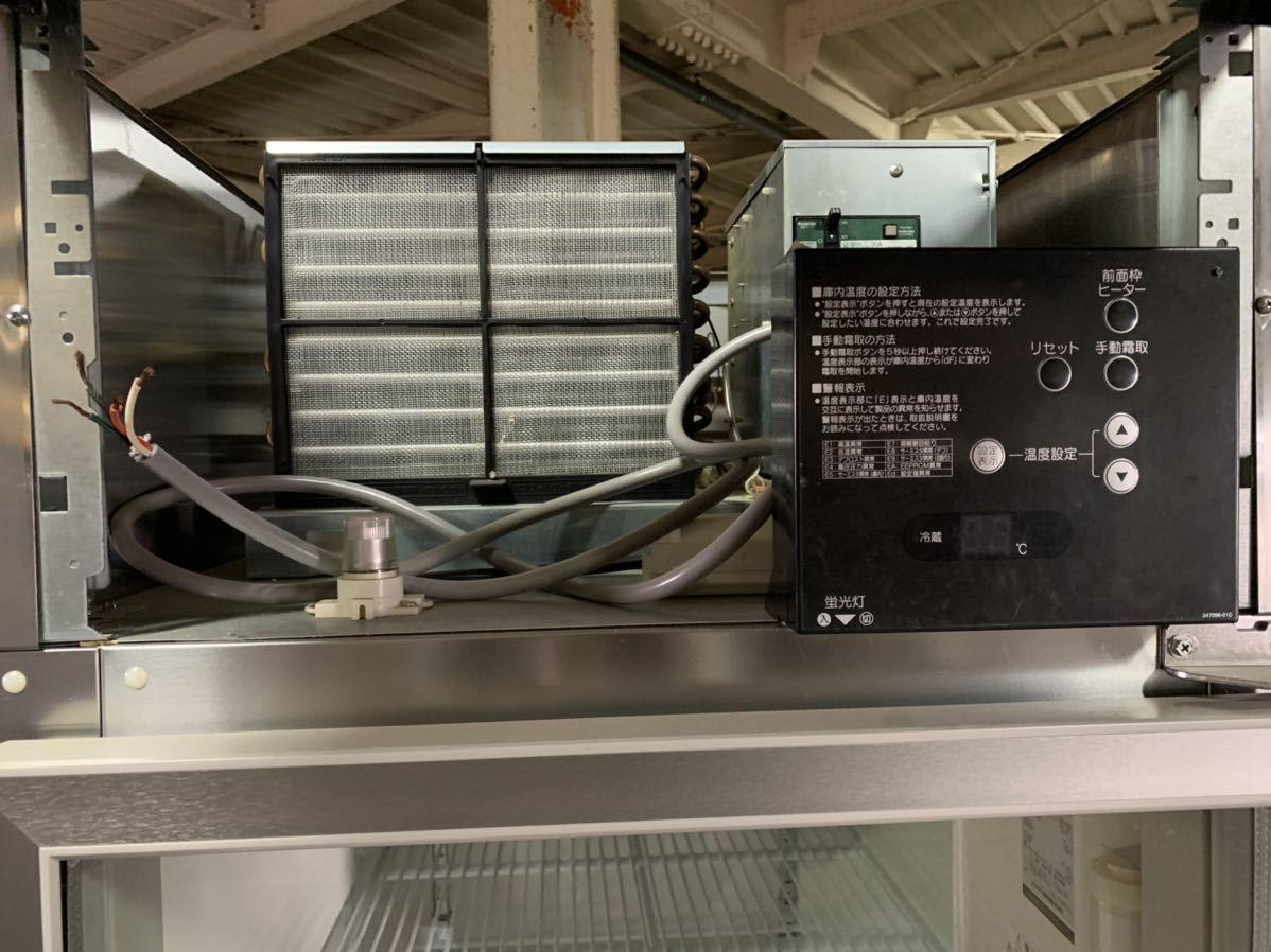 ★引き取り、自社便配送限定★ ホシザキ 2014年 美品 冷蔵ショーケース 縦型冷蔵庫 業務用 RS-63X3 リーチインショーケース 3相200V_画像7