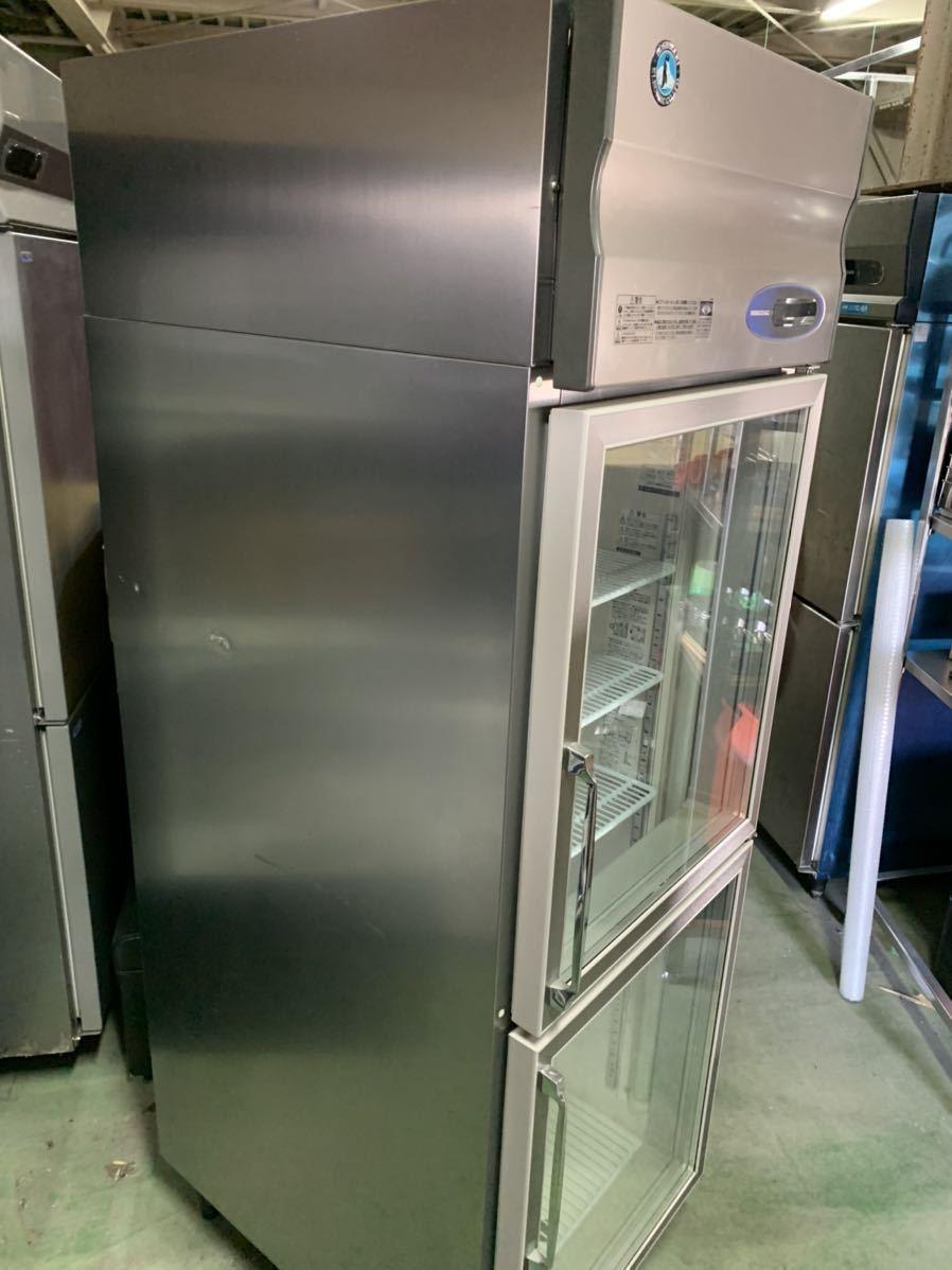 ★引き取り、自社便配送限定★ ホシザキ 2014年 美品 冷蔵ショーケース 縦型冷蔵庫 業務用 RS-63X3 リーチインショーケース 3相200V_画像5