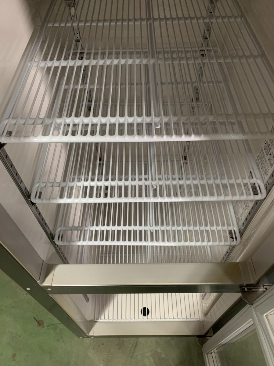 ★引き取り、自社便配送限定★ ホシザキ 2014年 美品 冷蔵ショーケース 縦型冷蔵庫 業務用 RS-63X3 リーチインショーケース 3相200V_画像4