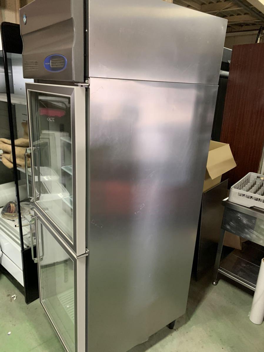 ★引き取り、自社便配送限定★ ホシザキ 2014年 美品 冷蔵ショーケース 縦型冷蔵庫 業務用 RS-63X3 リーチインショーケース 3相200V_画像10