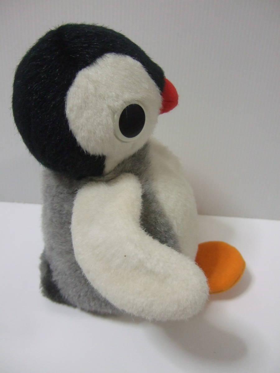 1993 year SEKIGUCHI seat gchi Pingu sister PINGU soft toy retro pin gaPINGA character penguin