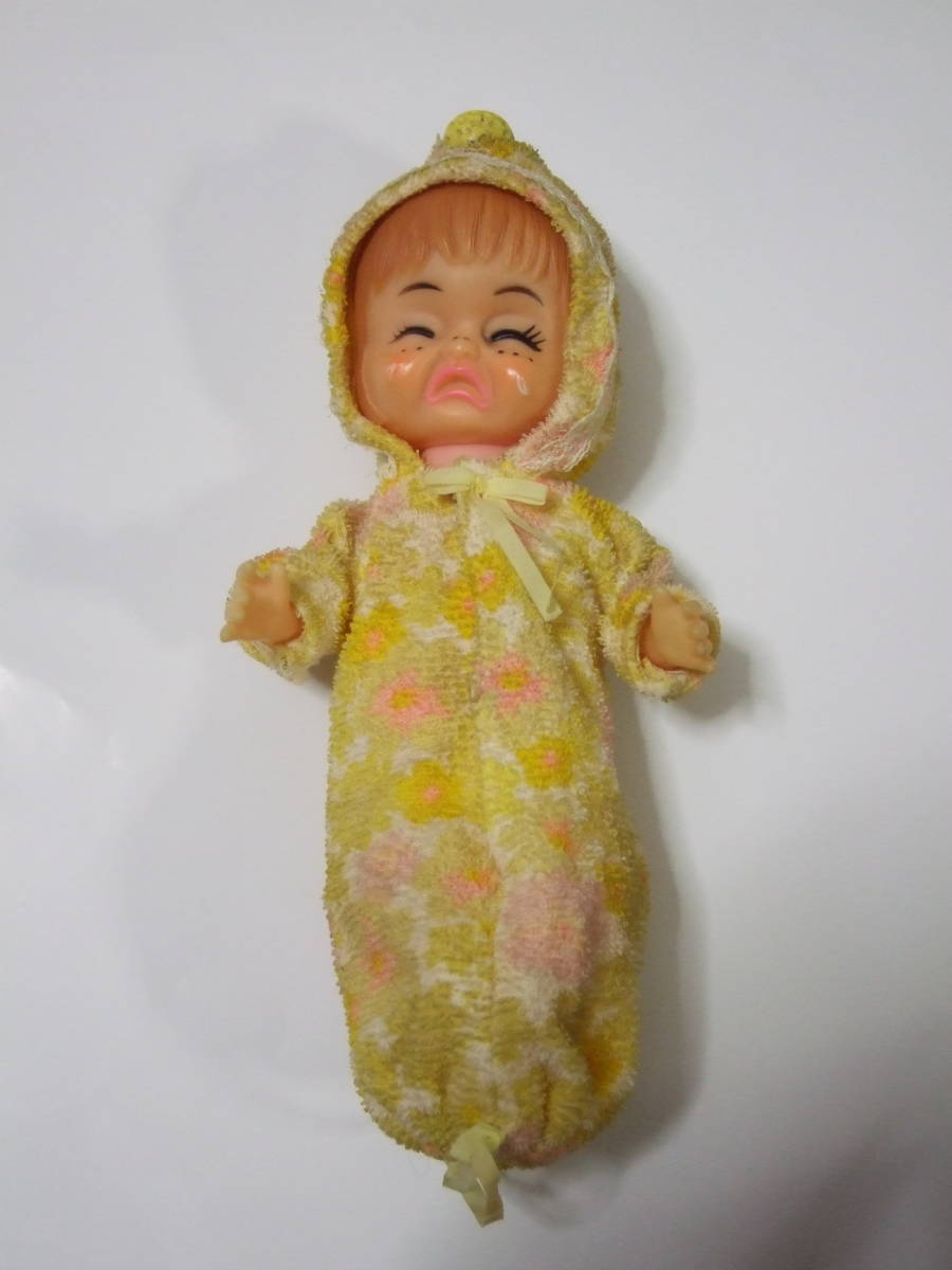 3 surface baby doll doll girl crying . laughing ... three surface baby doll japan