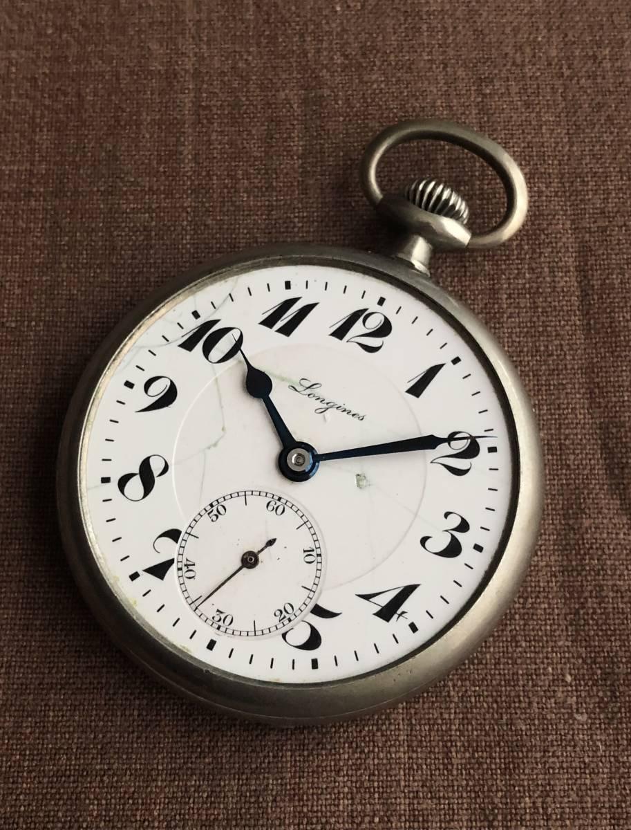 ★★★ ジャンク アンティーク ロンジン 懐中時計 ★★★_画像3