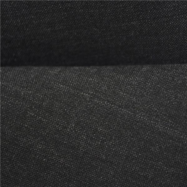1XA28】P.S.FA 2つボタン シングルスーツ M A6 ダークグレー ストライプ ノータック 人気 定番 通勤 営業 IS320153-18C_画像3