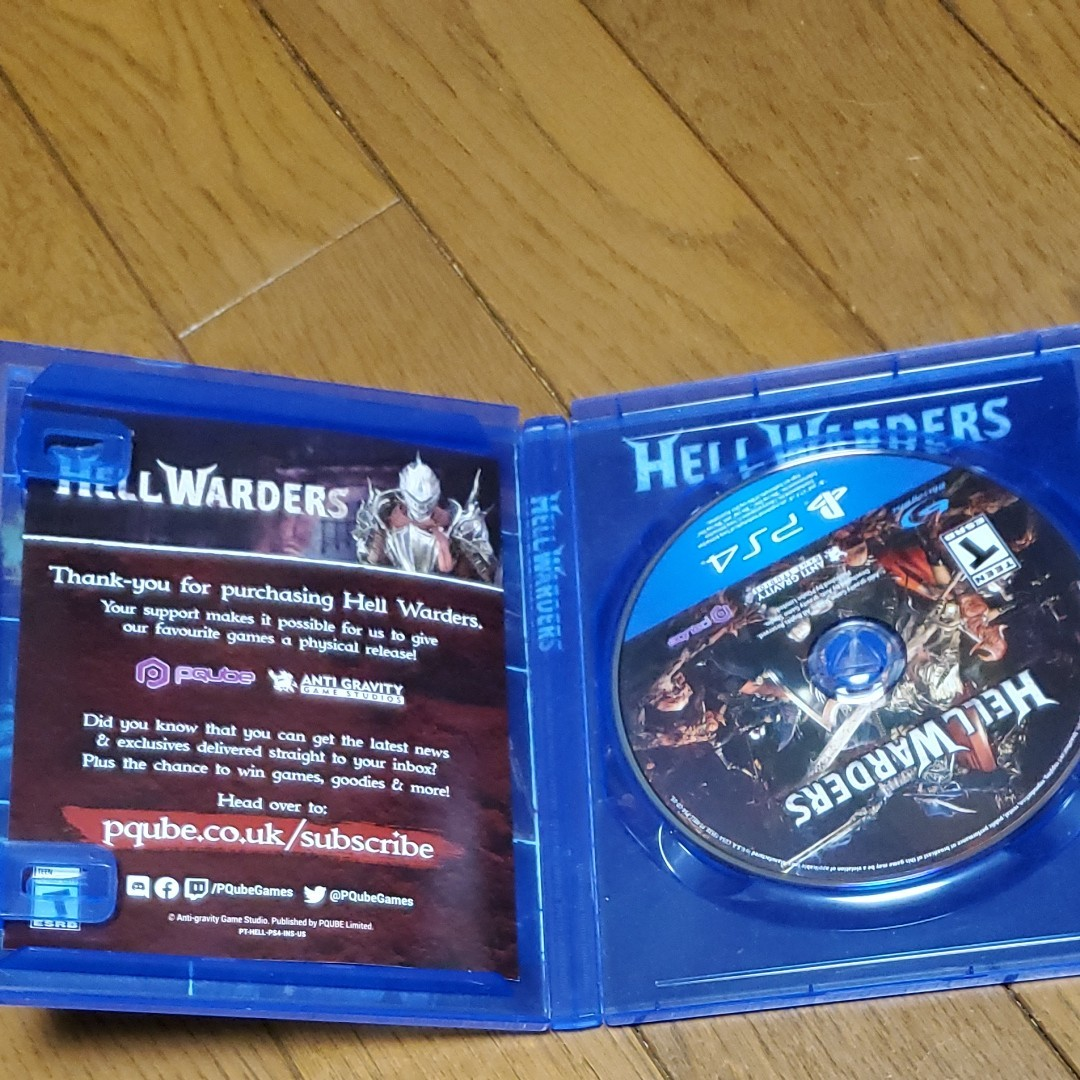 PS4 Hell Warders