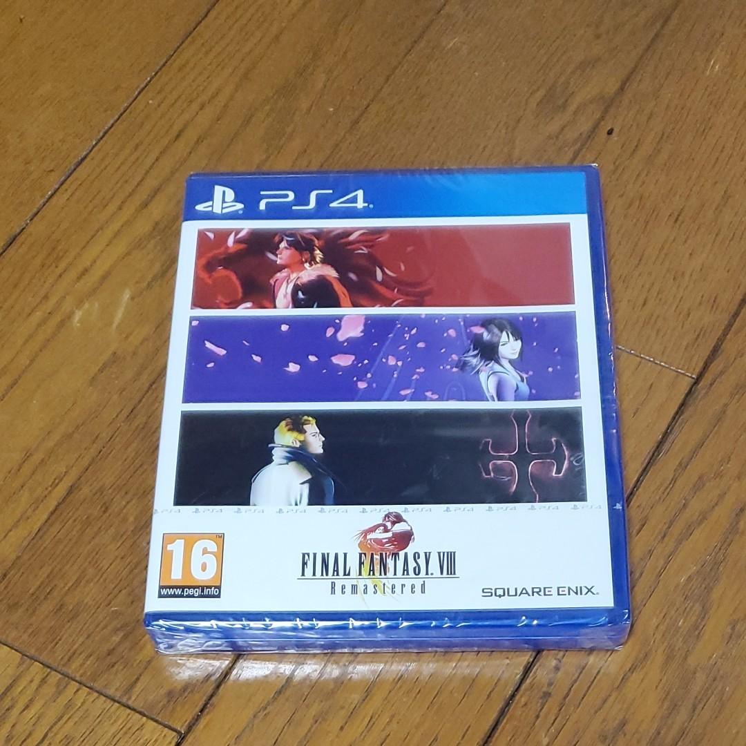 PS4 ファイナルファンタジー8 リマスタード Final Fantasy8 REMASTERED