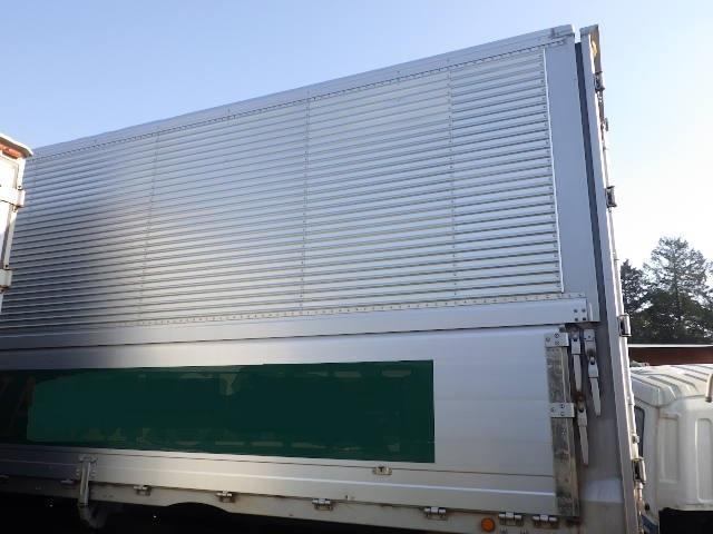 r313-500 ★ コンテナ 倉庫 物置 道具箱 冷凍箱 アルミバン 保冷バン アルミウイング 20240×2500×2700_画像6