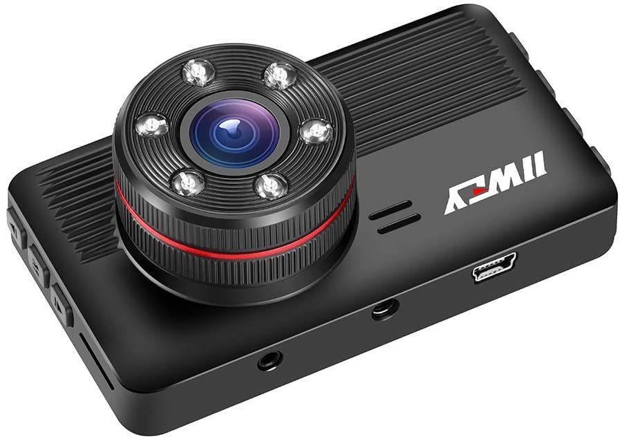 【令和3年版、GPS付き】ドライブレコーダー IIWEY 前後カメラ GPS搭載 赤外線暗視ライトSONY IMX294センサー 1080PフルHD A228_画像9