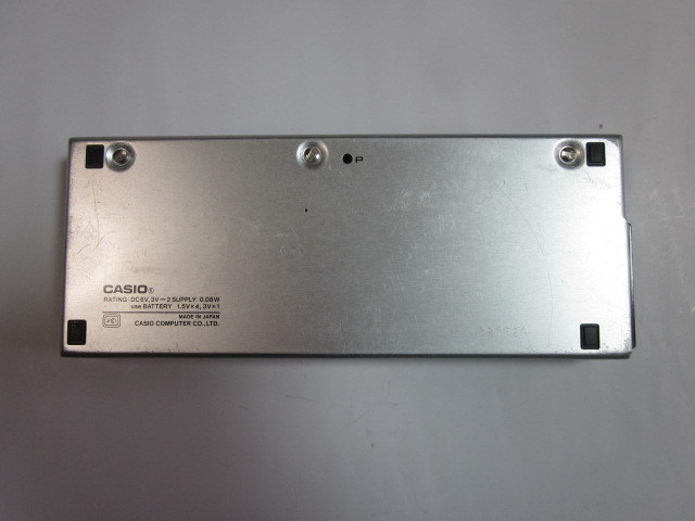 カシオ ポケットコンピュータ VX-4  ジャンク品_画像3