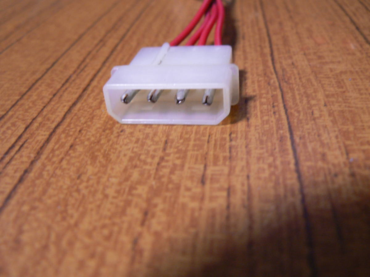 送料最安 120円 PW98:デスクトップ内蔵機器用電源延長ケーブル 13cm_画像2