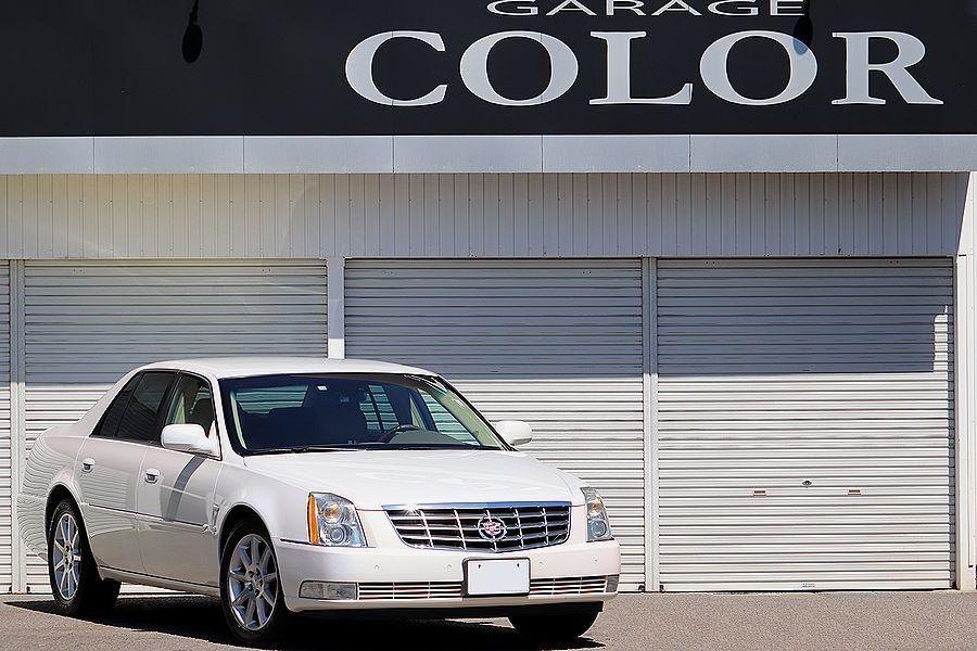 「【 正規ディーラー車 】 キャデラック / DTS / 4.6L / 最高峰モデル / 希少カラー / 内外装美車」の画像1