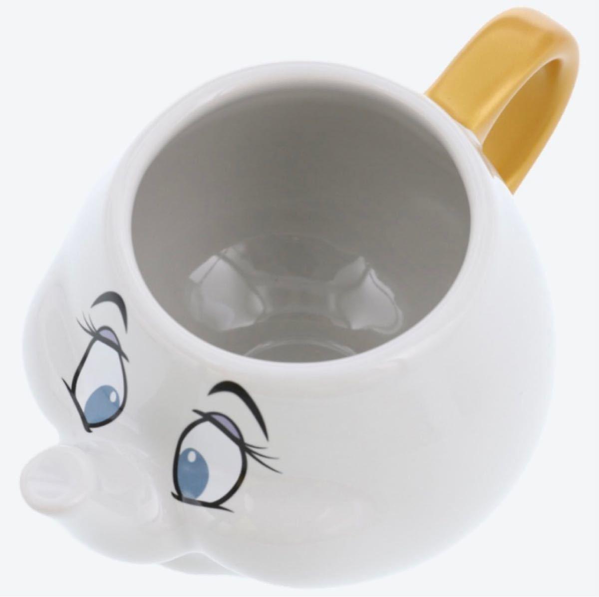 ☆新品未使用☆ 美女と野獣 ポット夫人 チップ マグカップ