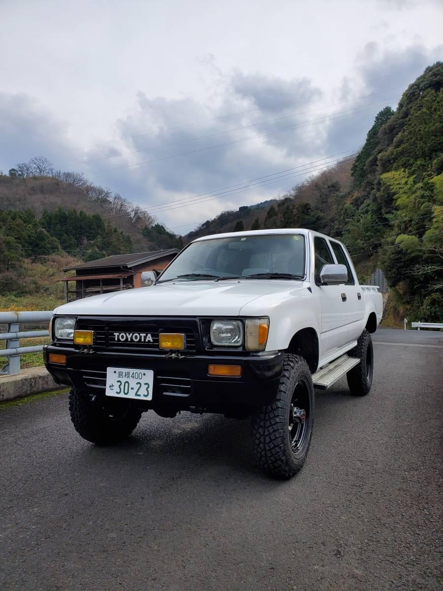 個人出品 希少 ハイラックス LN106 ディーゼル 5MT パートタイム4WD