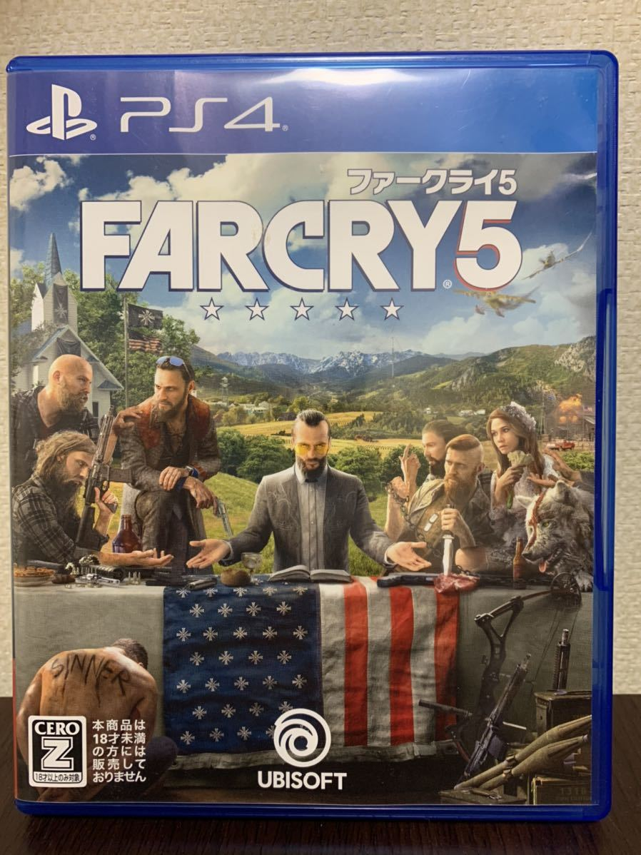 PS4 PS4ソフト FARCRY5 ファークライ5