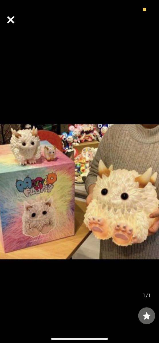 POP MART × INSTINCTOY Monster Fluffy Life with Fuzzy ソフビライト_画像1
