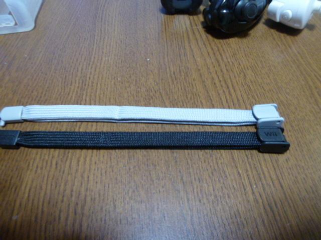 RSJN71【送料無料 動作確認済】Wii リモコン ジャケット ストラップ ヌンチャク 2個セット ピンク ブラック 黒 カバー