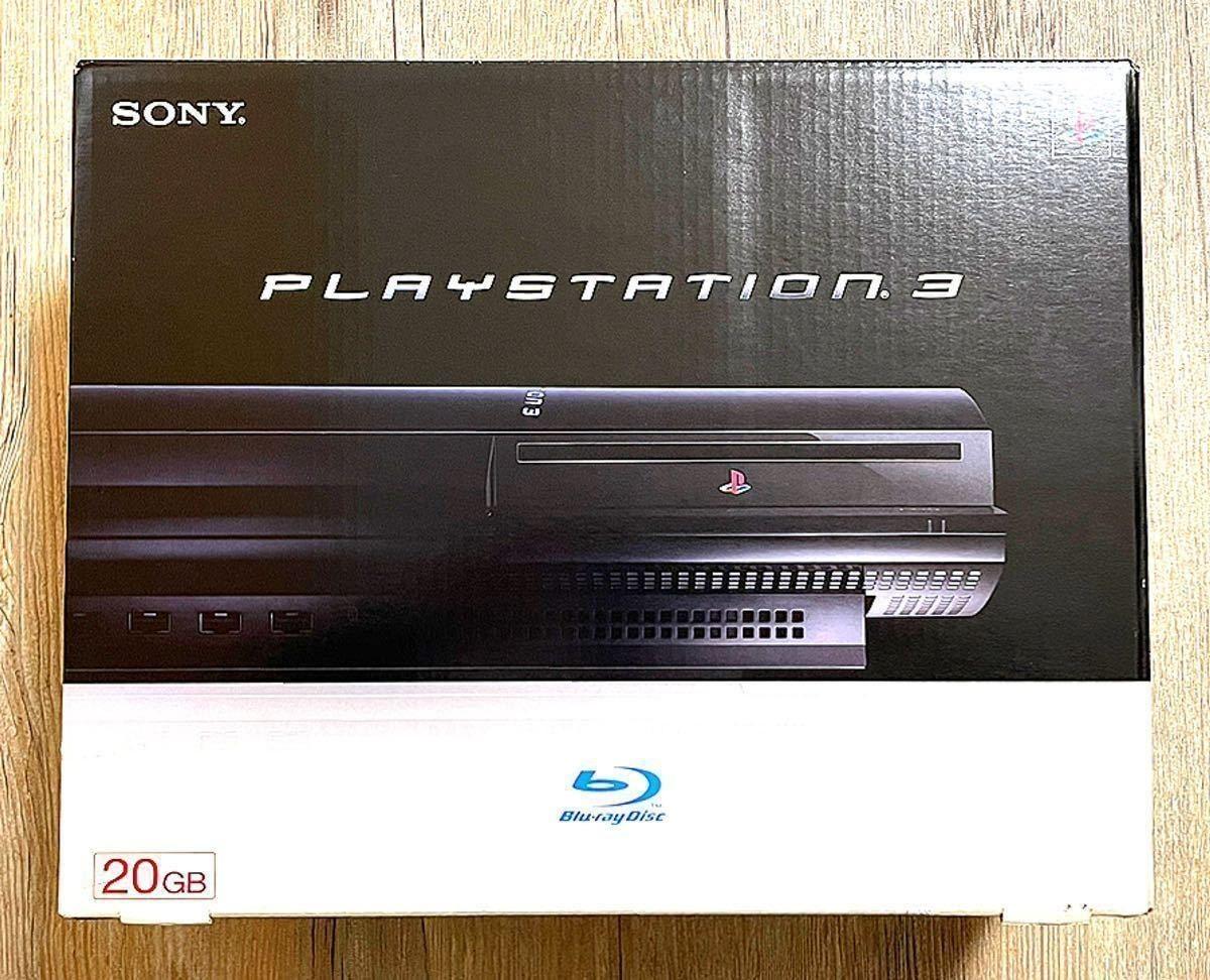 送料無料 新品未使用 CECHB00 PS3 初期型 本体 PS2対応 PlayStation3 プレステ3 プレイステーション3