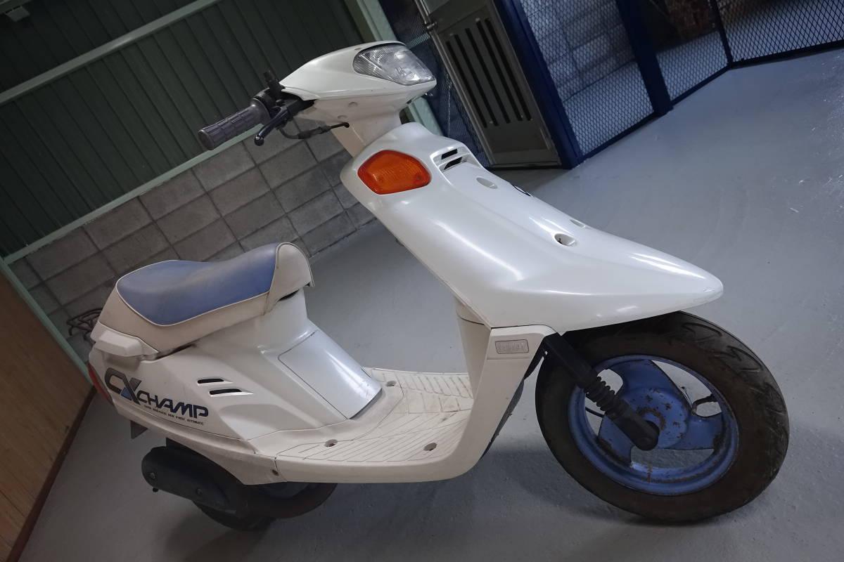 「CHAMP CX チャンプ CX (3FC) ベースor部品取り車 希少車! 香川高松(大阪枚方)」の画像2