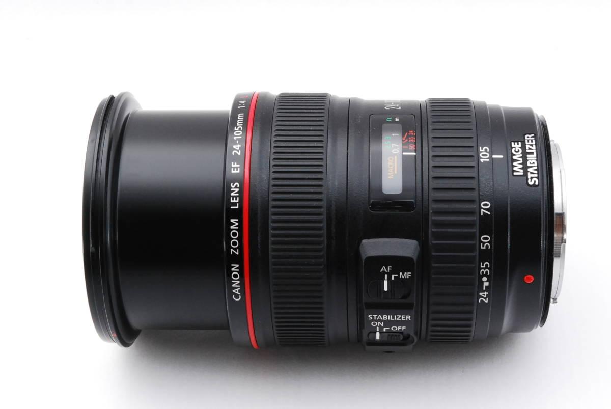 ★☆【美品】 Canon キヤノン EF 24-105mm f/4 L IS USM ズームレンズ☆★_画像5