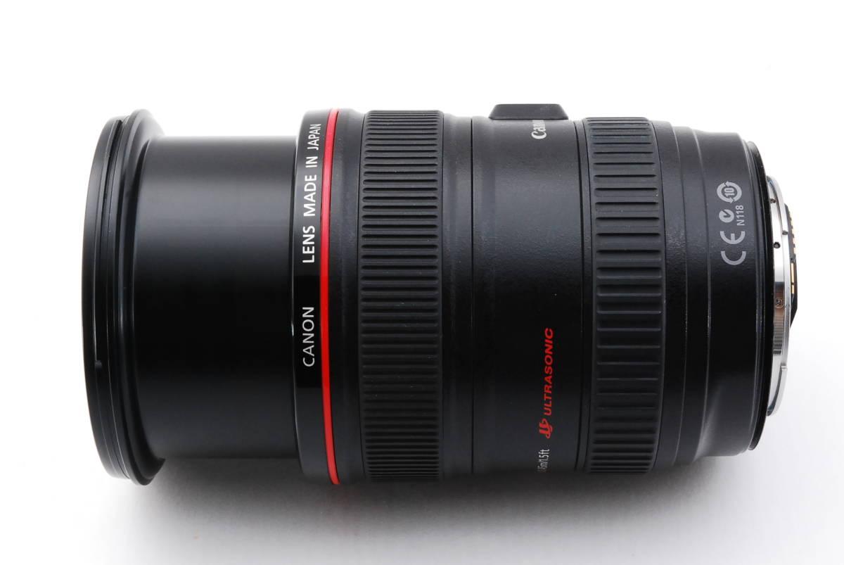 ★☆【美品】 Canon キヤノン EF 24-105mm f/4 L IS USM ズームレンズ☆★_画像6