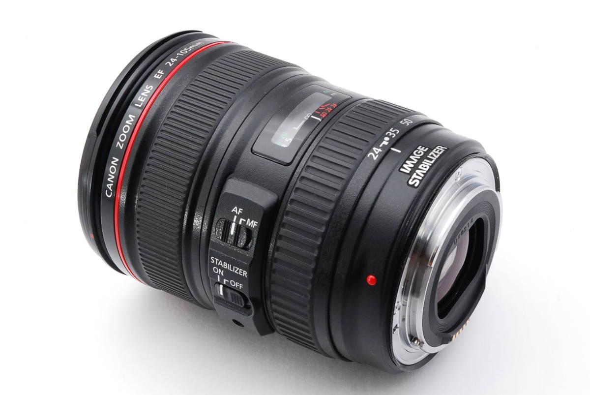 ★☆【美品】 Canon キヤノン EF 24-105mm f/4 L IS USM ズームレンズ☆★_画像3