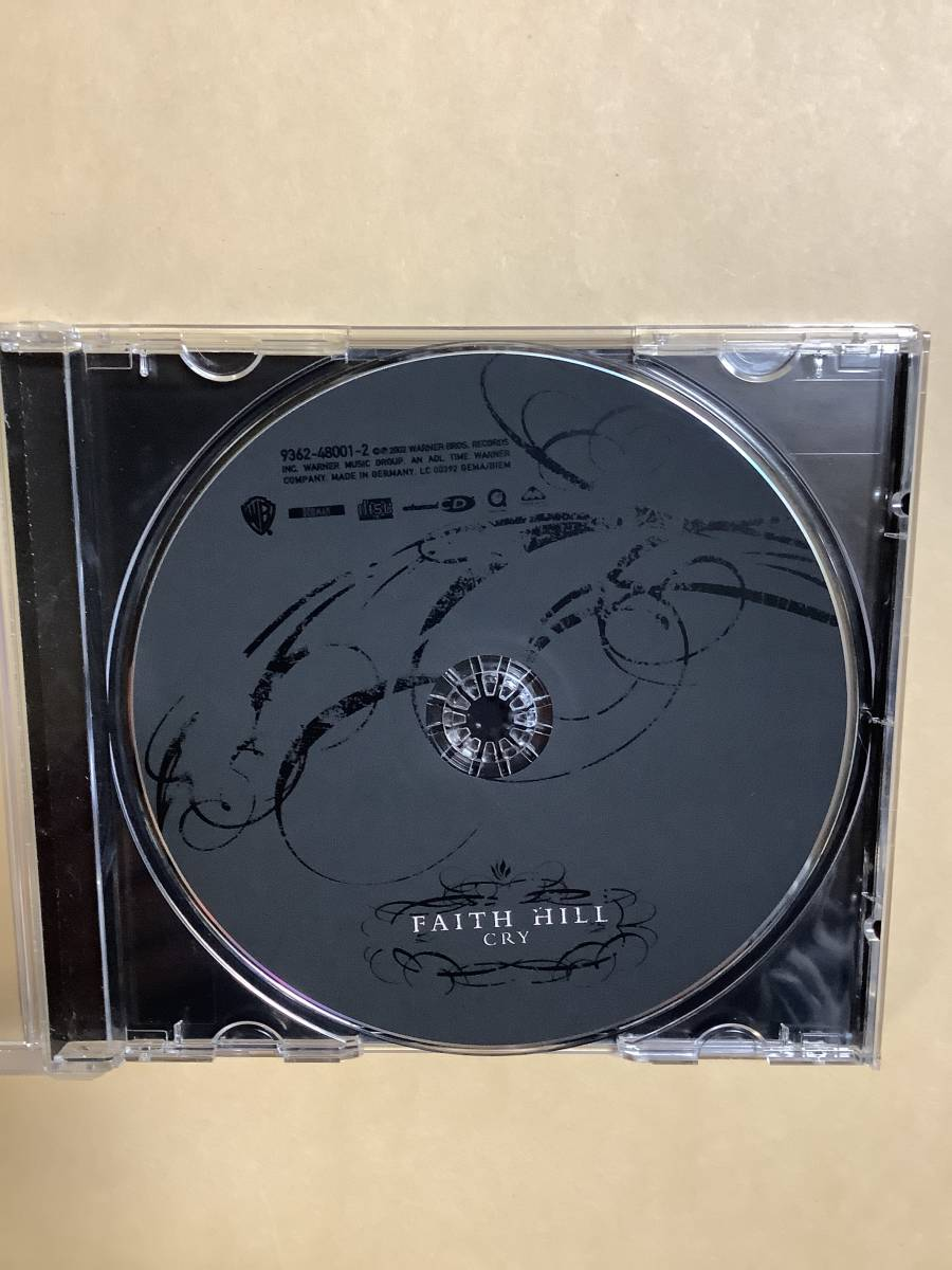 送料無料 FAITH HILL「CRY」輸入盤