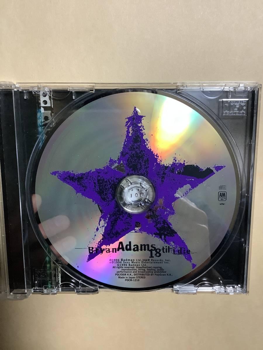 送料無料 ブライアン アダムス「18 TIL I DIE」国内盤ニューバージョン デュエット曲を収録して新装リリース