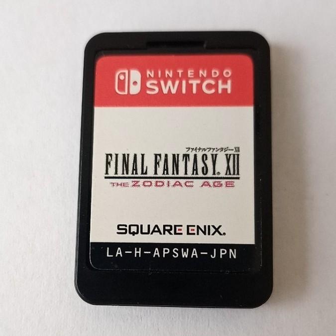 【Switch】FINAL FANTASY ⅩⅡ the zodiac age ソフトのみ