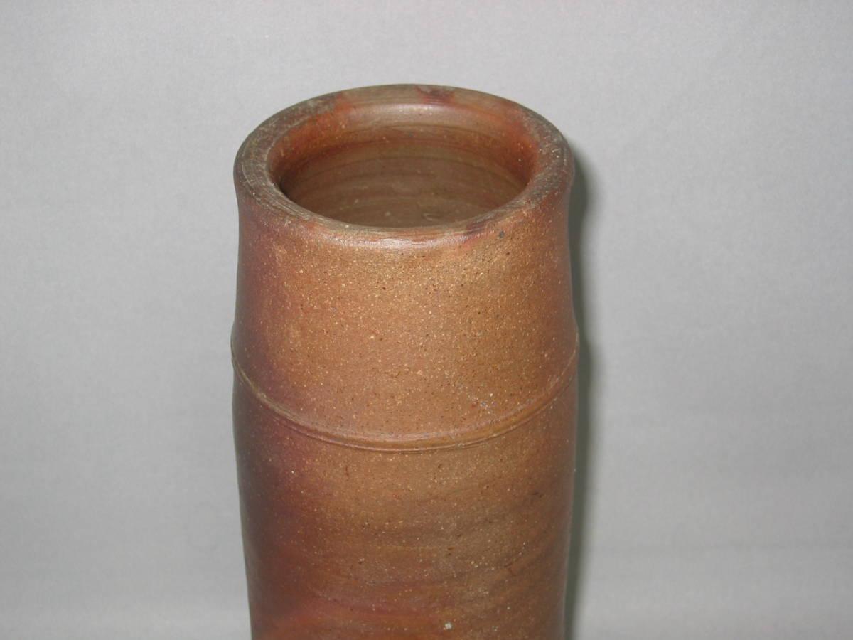 備前焼 在銘 花入 花器 花瓶 _画像8