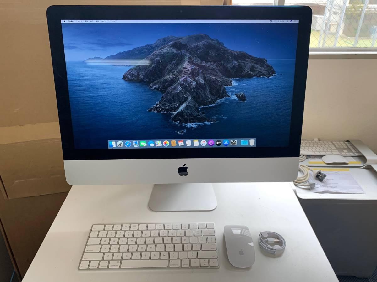 608 Apple iMac Late2015 21.5インチ MK442J/A CPU Core i5 2.8GHz メモリ 8GB HDD 1TB 中古_画像1
