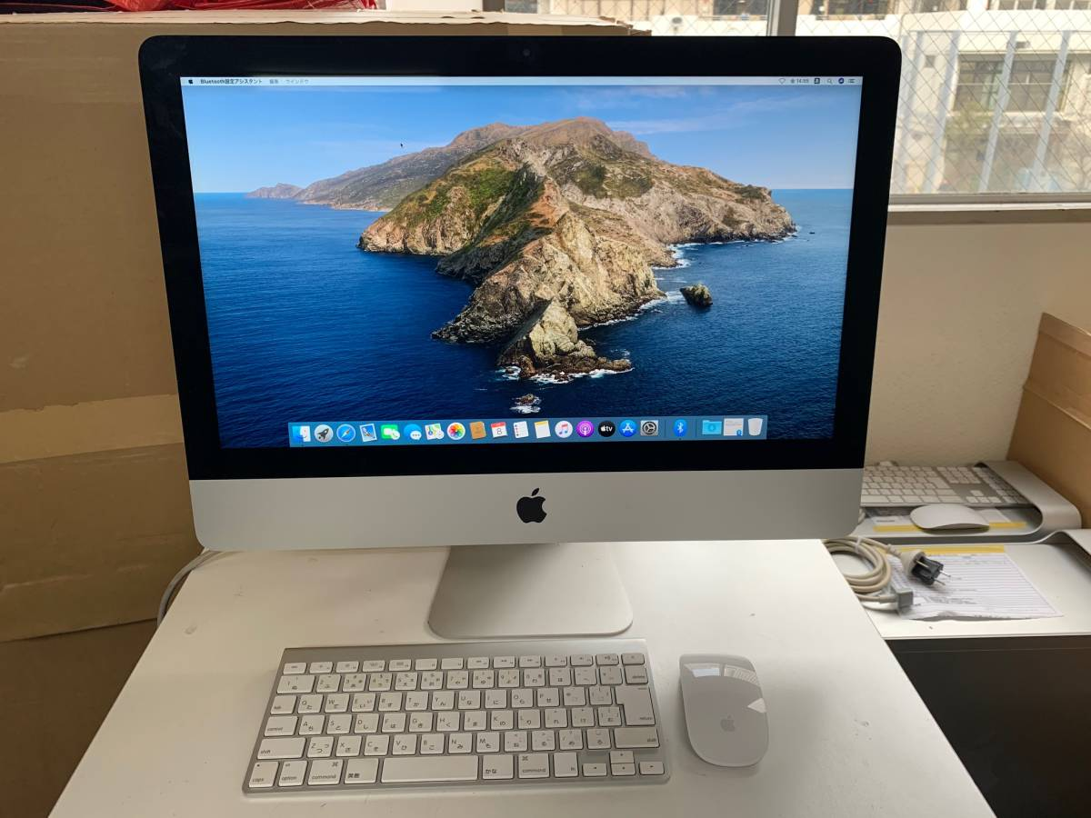 621 Apple iMac Late2012 21.5インチ MD094J/A CPU Core i5 2.9GHz メモリ 8GB HDD 1TB 中古_画像1