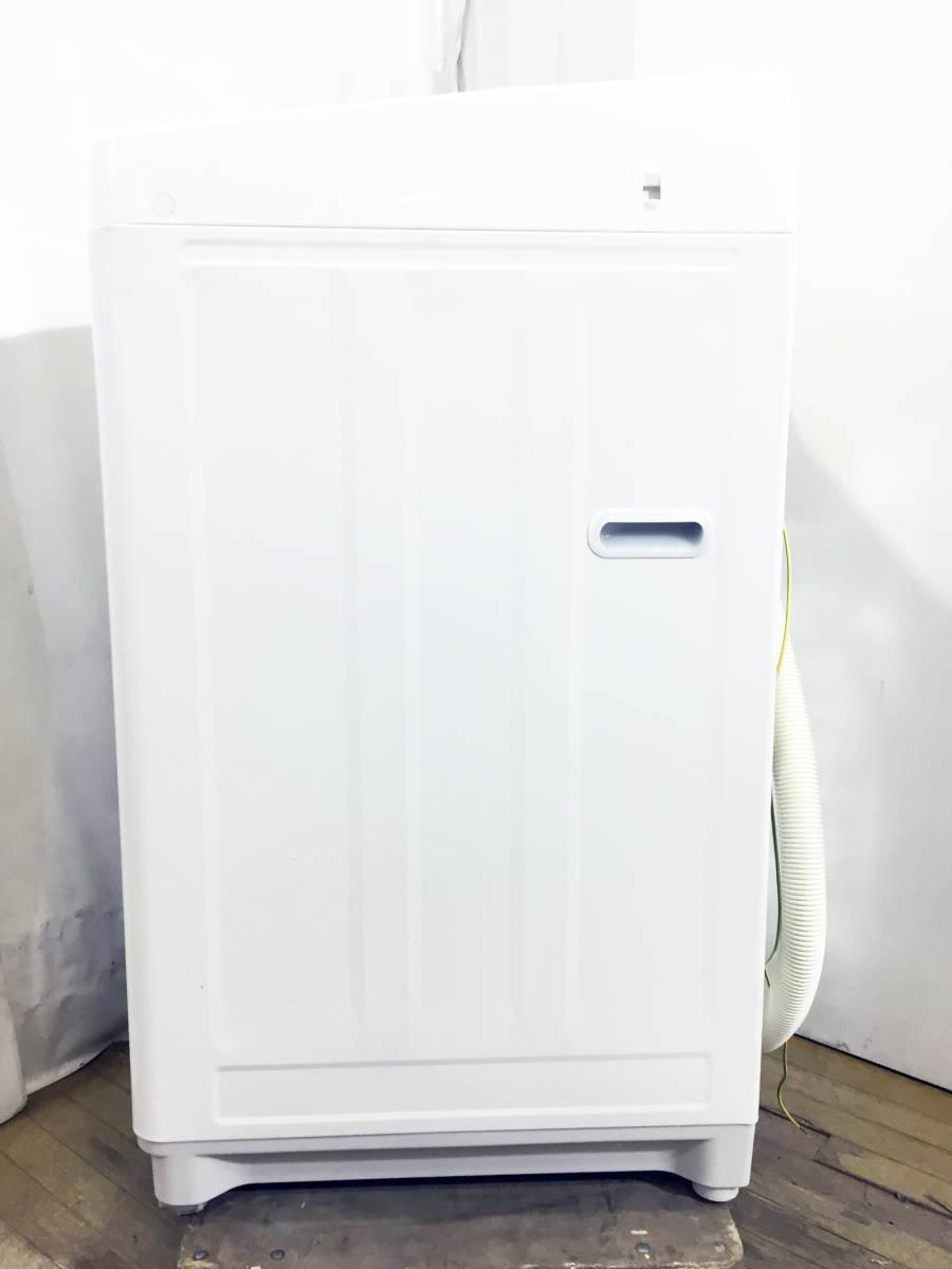 ☆送料無料★2019年製★★超美品 中古★東芝 5㎏ パワフルな水流でしっかり洗う「浸透パワフル洗浄」風乾燥機能。洗濯機【AW-5G6】E386_画像7