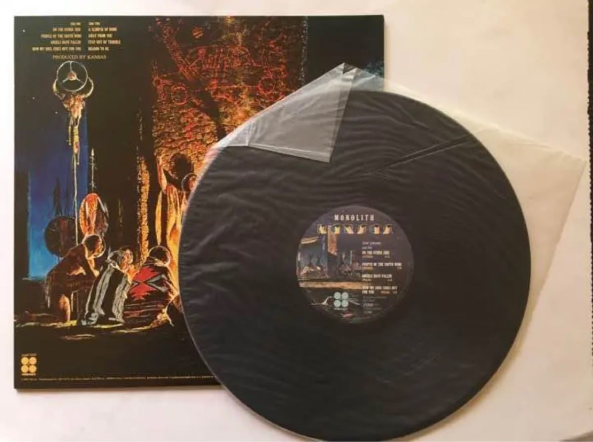 LPレコード カンサス モノリスの謎